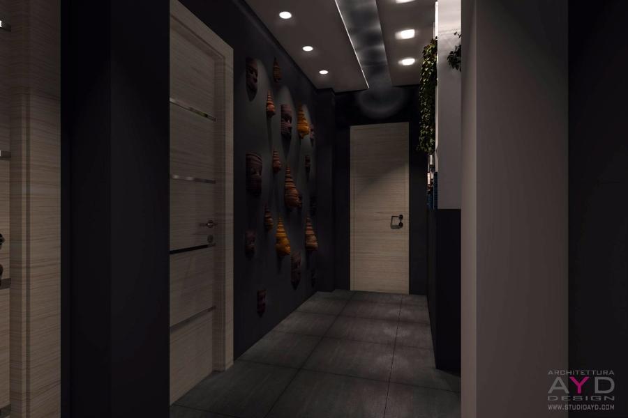 Foto illuminazione interni casa studio ayd torino de for Studio architettura interni torino