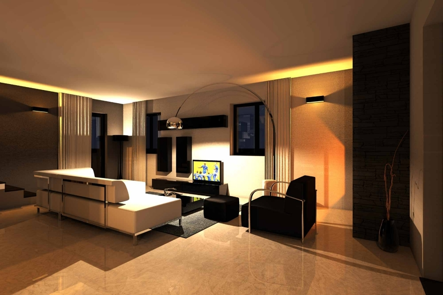 Illuminazione interni moderna: illuminazione case moderne