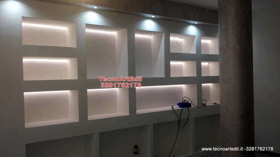 Estremamente Foto: Illuminazione Nicchie con LED di Tecnoartedil #290330  HS12