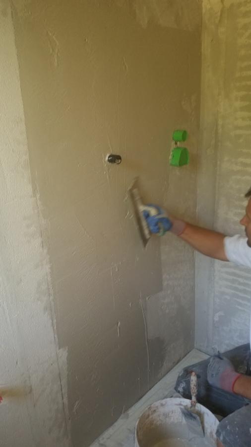 impermeabilizzazione delle pareti della doccia