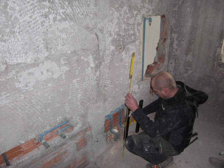 Foto impianti idraulici in bagno di rwm costruzioni s r l 184623 habitissimo - Impianti idraulici bagno ...