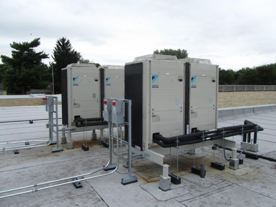 Foto impianto di climatizzazione di alter energy impianti for Impianto climatizzazione