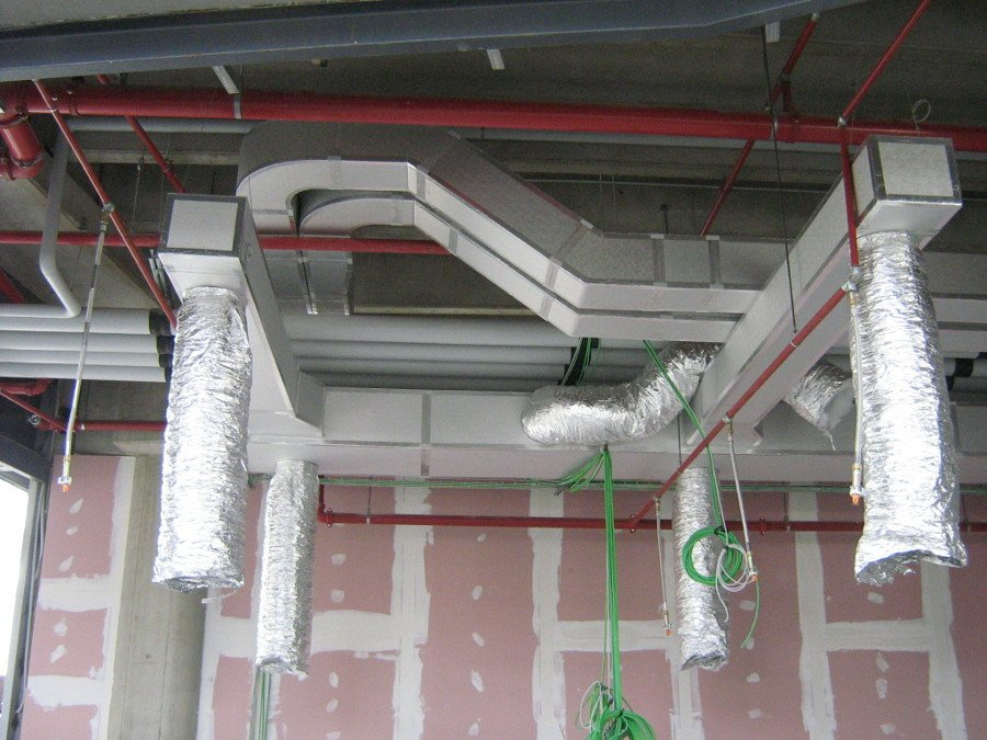 Progetto di realizzazione impianto di condizionamento di - Canalizzazione aria condizionata ...