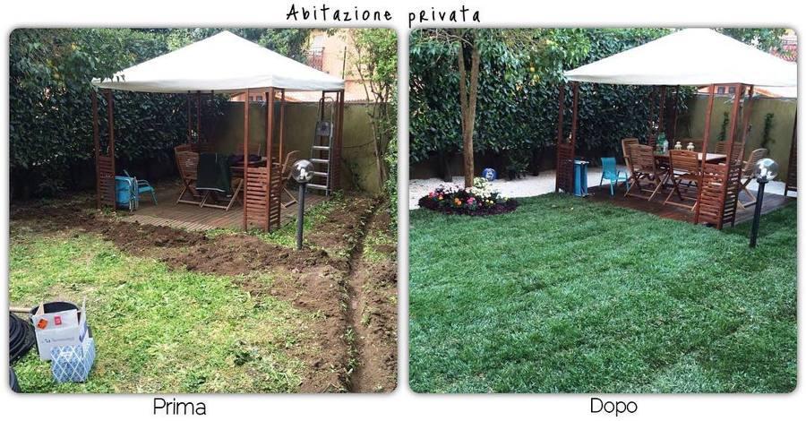Installazione impianto di irrigazione e posa prato idee for Preventivo impianto irrigazione