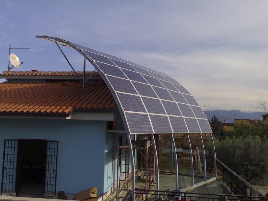 Impianto Fotovoltaico a Vela