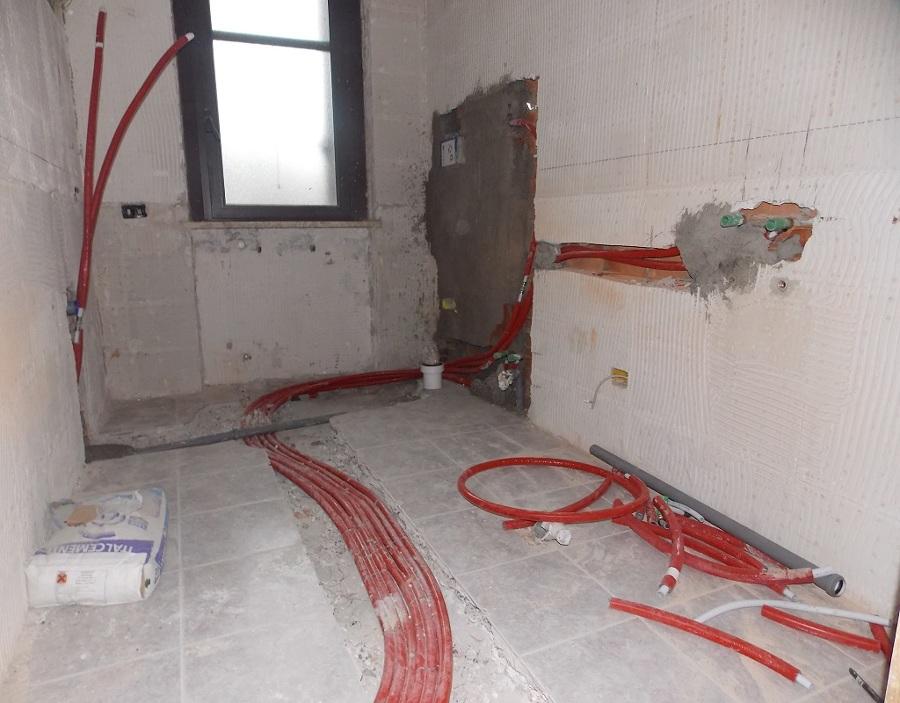 Foto impianto idraulico bagno di impreservice 394548 habitissimo - Impianto idraulico bagno ...