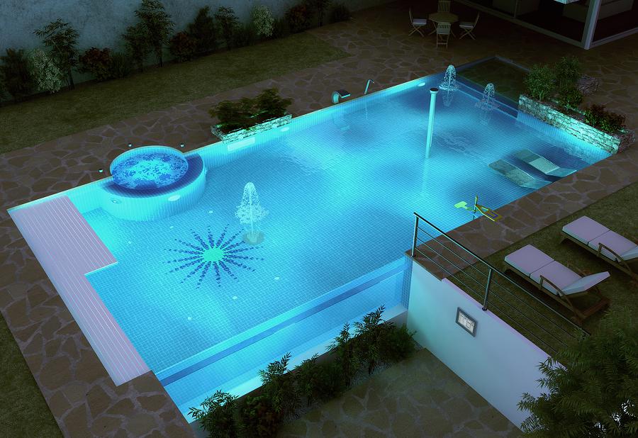 Qual la piscina pi adatta per la mia casa idee interior designer - Piscina con acqua salata ...