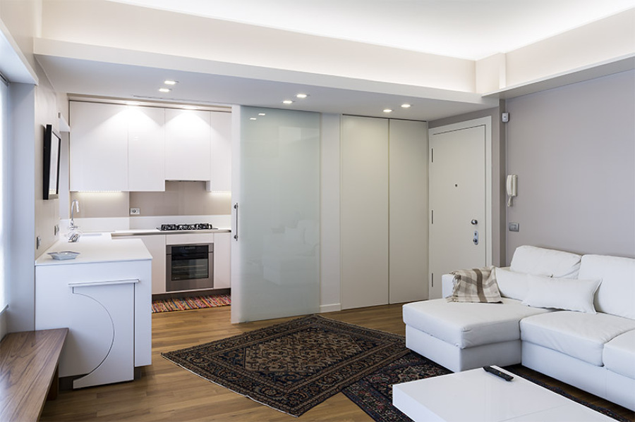 Ristrutturazione appartamento a milano idee for Riproduzioni design
