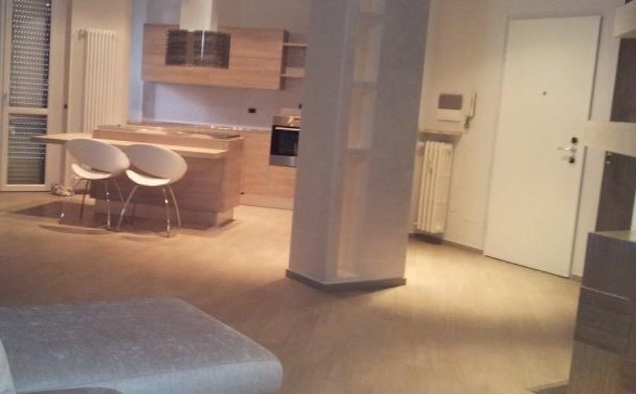foto: ingresso su soggiorno con angolo cottura di signum #507685 ... - Foto Soggiorno Con Angolo Cottura