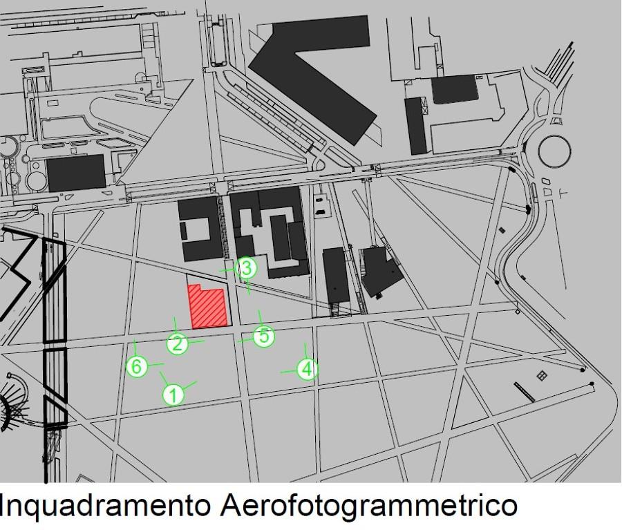 Inquadramento aerofotogrammetrico