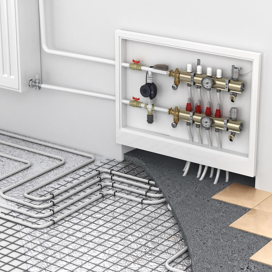 installazione riscaldamento pavimento