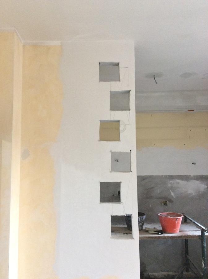 Foto: installazione vetro cemento in parete gas beton di d&p ...