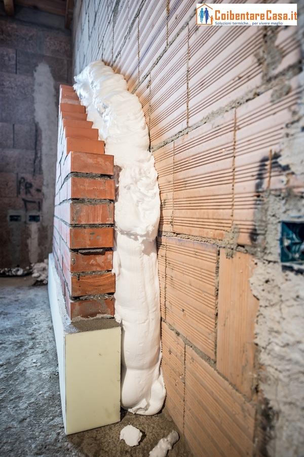 Progetto di insufflaggio pareti appartamento idee isolamento for Miglior isolante termico per pareti interne