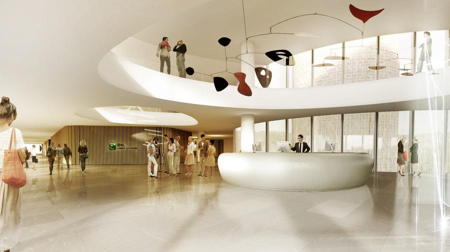 Progetto di interior design della nuova sede bnl idee for Interior designer a roma