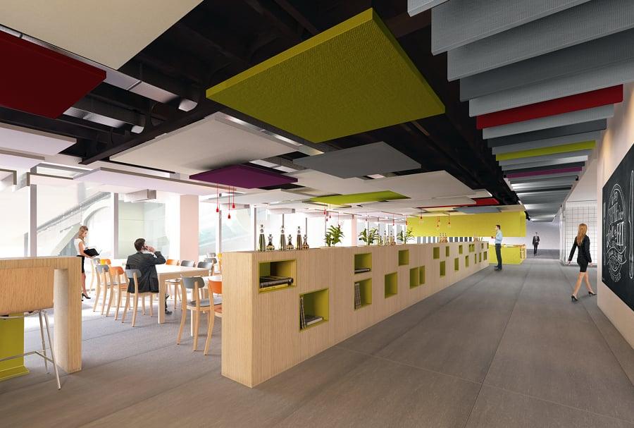 Foto interior design nuova see bnl a roma di next urban for Interior design roma