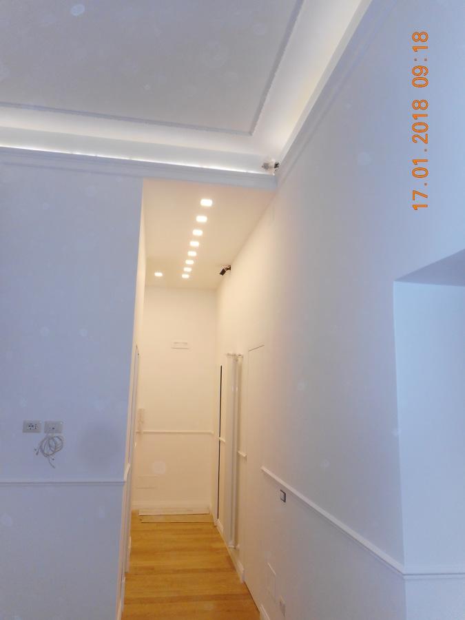 interni, appartamento, corridoio ingresso