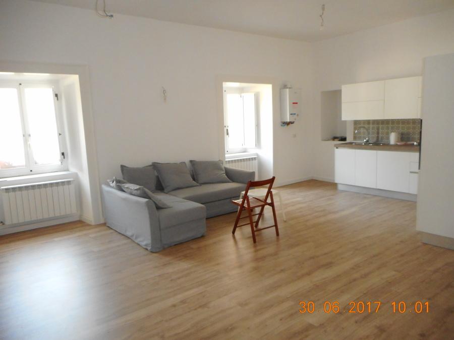 interni, appartamento, open space
