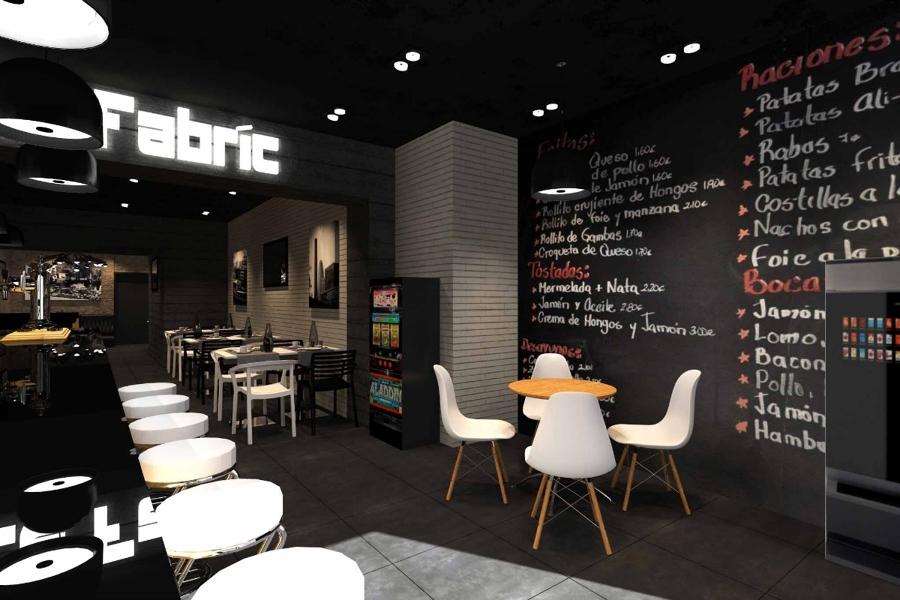 Foto interni bar design toirino barcellona studioayd di for Bar stile industriale