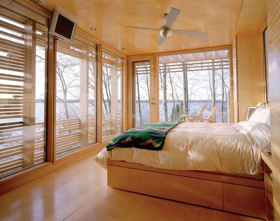 interni casa di legno