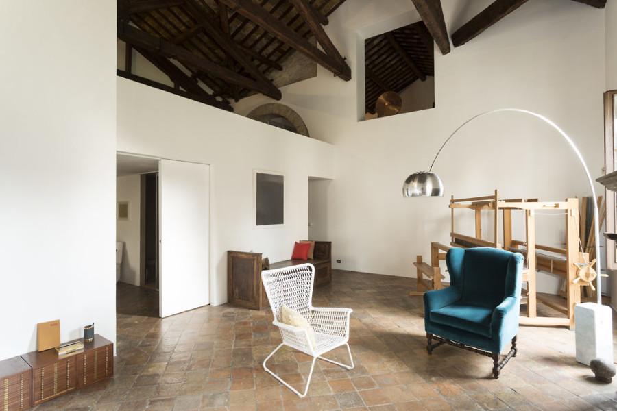 Interni villa ristrutturata a Pesaro