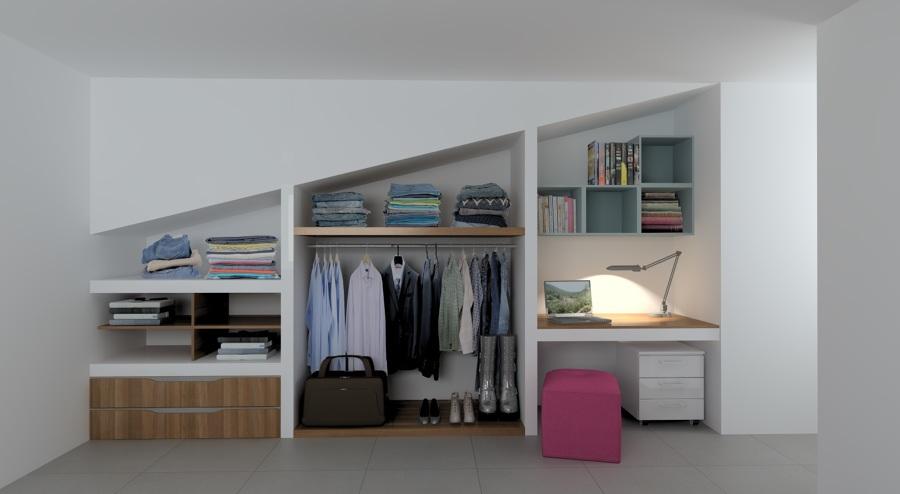 interno armadio camera ragazzo