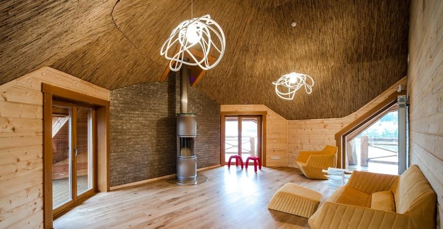 Foto interno casa di paglia de marilisa dones 340417 - Costruire una casa in paglia ...