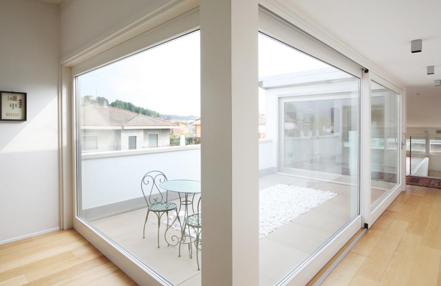 interno e balcone