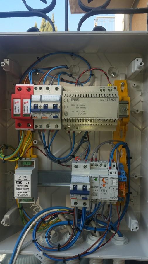 Installazione Telecamere e Quadro Per Luci Esterne  Idee Elettricisti
