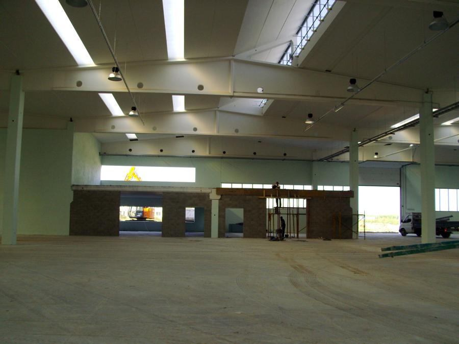 Progetto realizzazione capannone industriale idee for Fai il capannone