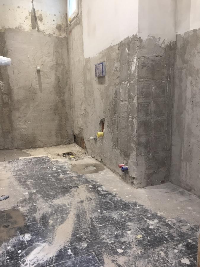 Intonaci bagno