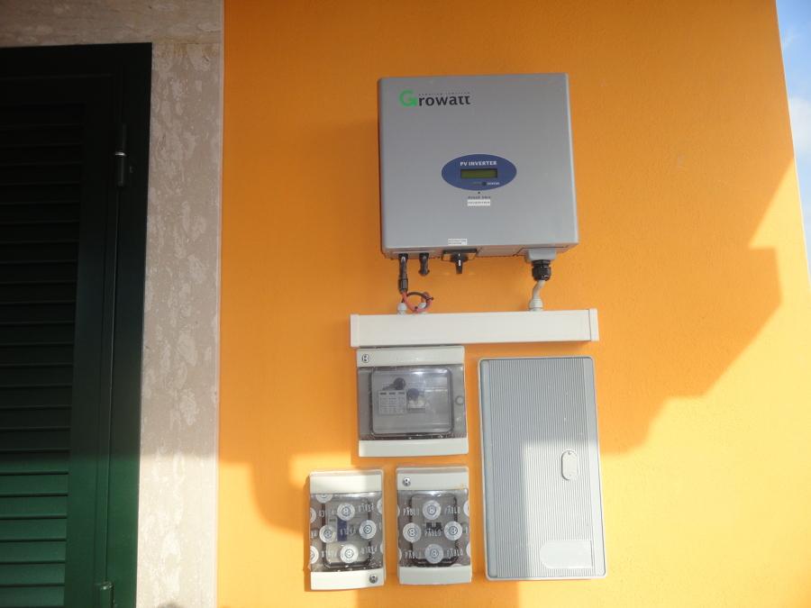 Schema Quadro Elettrico Per Fotovoltaico : Schema elettrico impianto fotovoltaico da kw alessandro d aloia