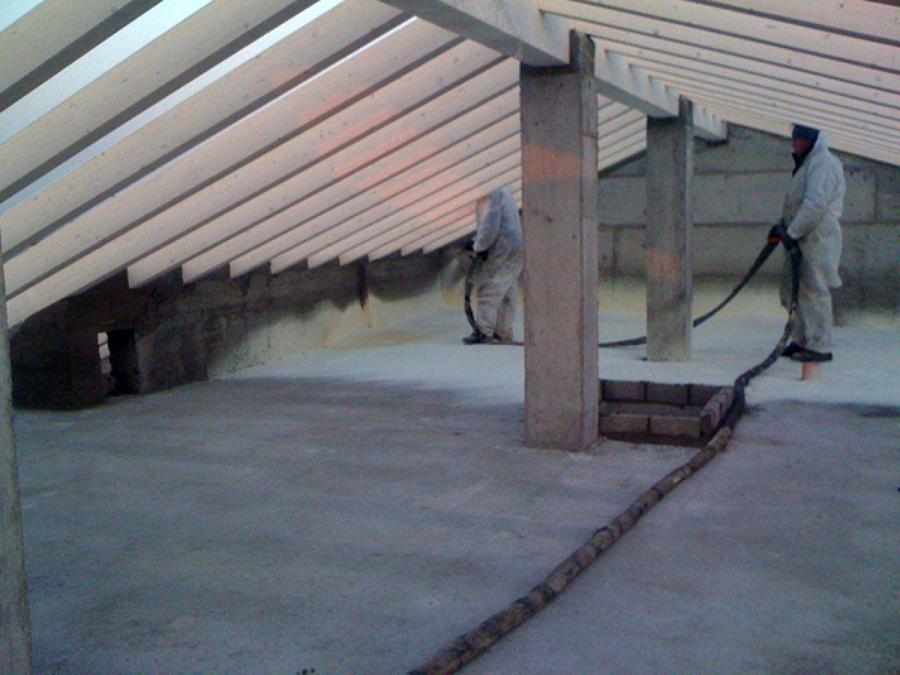 Isolamento tetto e sottotetto idee tetti - Isolamento termico sottotetto ...