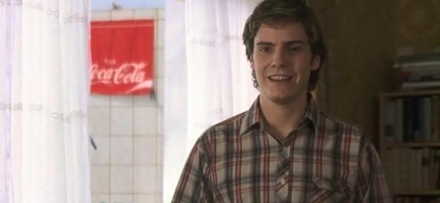 L'affissione del marchio Coca Cola