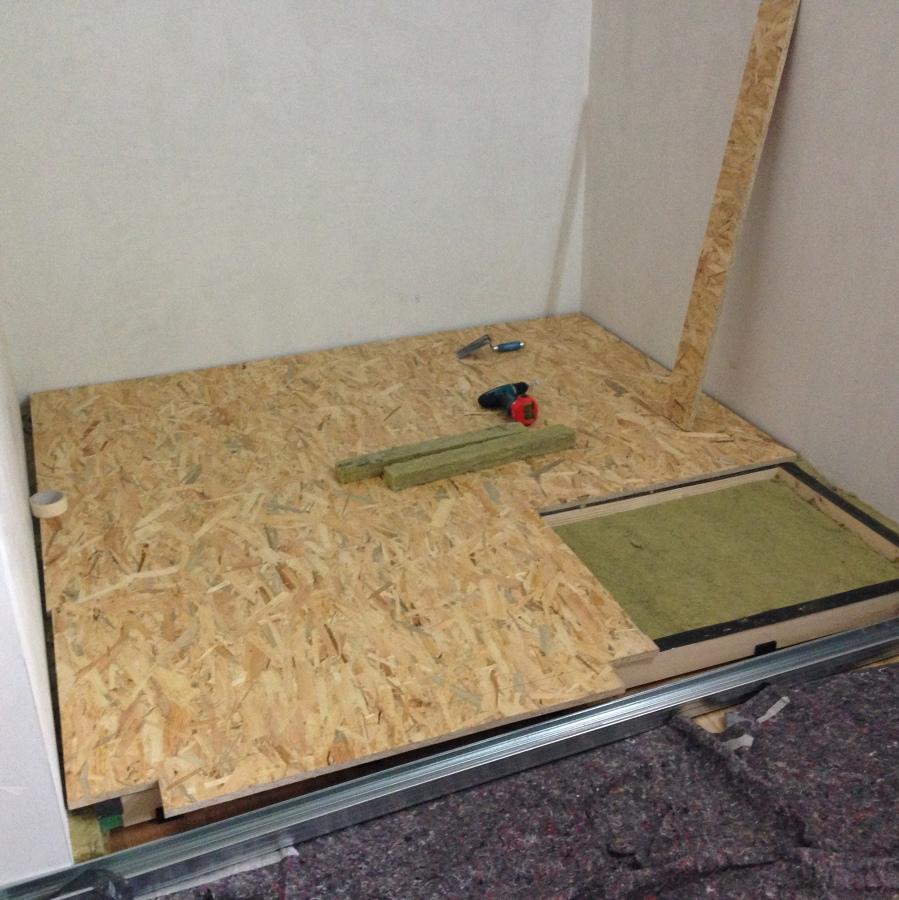 Realizzazione box insonorizzato per batteria idee - Insonorizzare porta ...