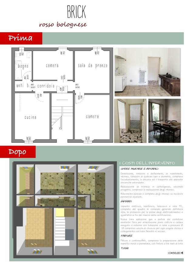 Progetto ristrutturazione casa di famiglia idee - Idee per ristrutturare un appartamento ...