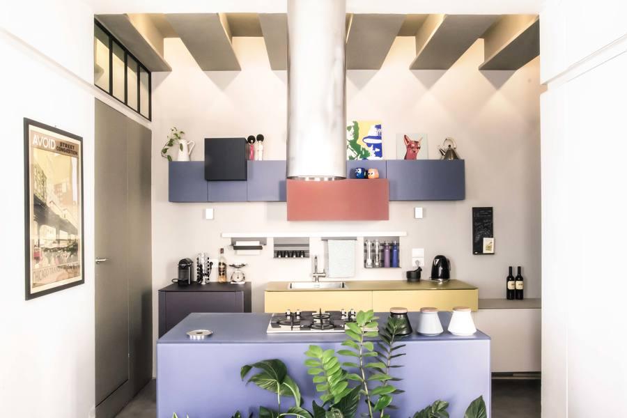 80 mq in stile moderno nel cuore di trastevere idee architetti - Finestra su trastevere ...