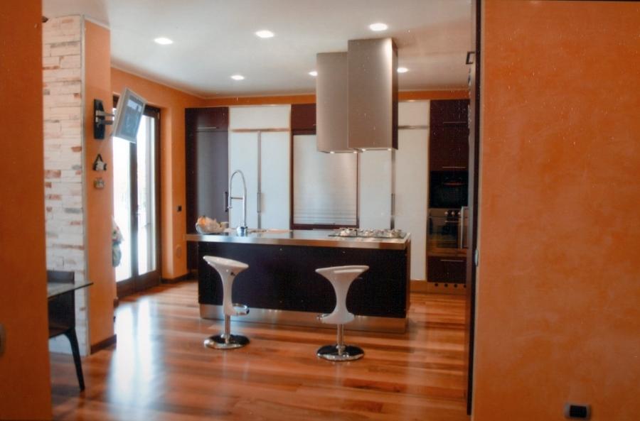 Progetto riorganizzazione e arredamento interno di casa for Preventivo arredamento