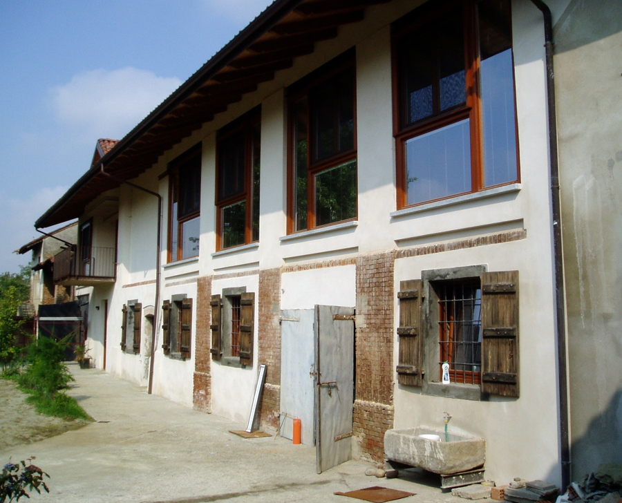 la facciata pilastrata