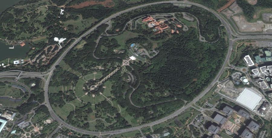 la rotonda più grande del mondo