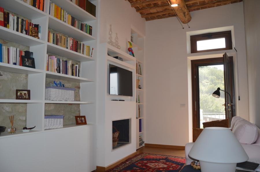 la sala tv lettura
