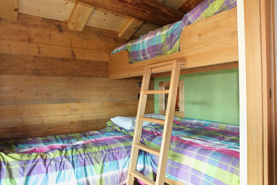 La stanza dei bambini al piano sottotetto