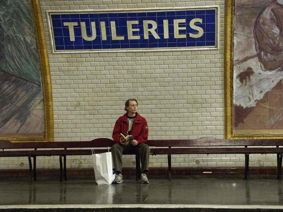 la stazione di Tuileries, tra le più conosciute