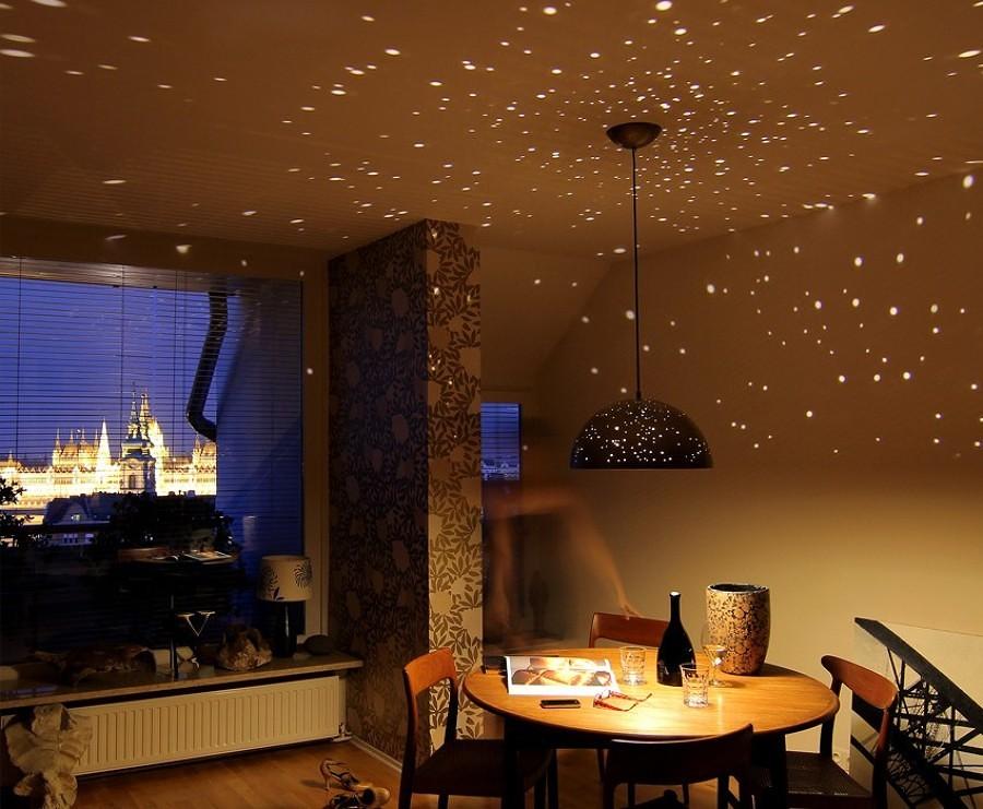 lampada con stelle