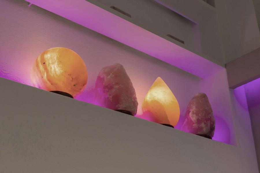 Lampade di sale himalayano