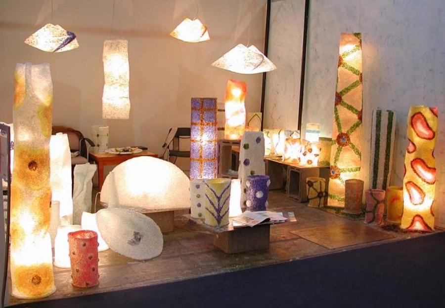 Lampade Artistiche di Andrea Alloesio  Idee Articoli Decorazione