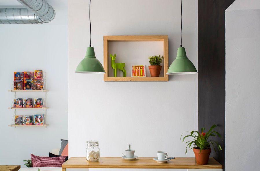 lampade verdi