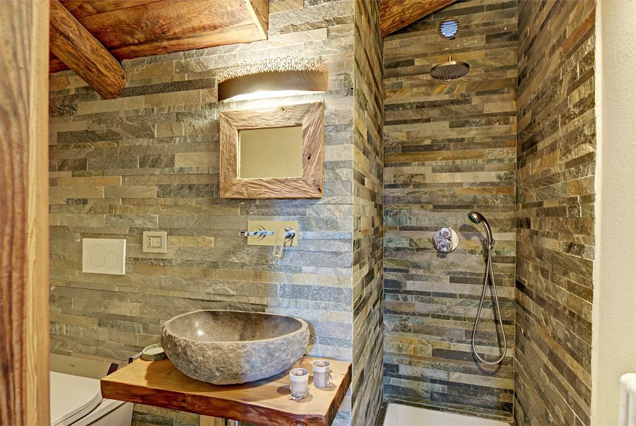 Baños Rusticos En Madera:Banos Rusticos De Piedra