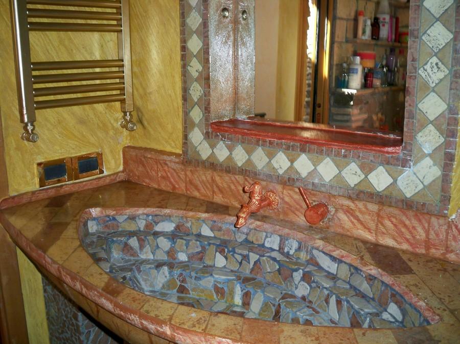 Foto lavandino in muratura di de faveri luca 91474 habitissimo - Lavandino bagno in muratura ...