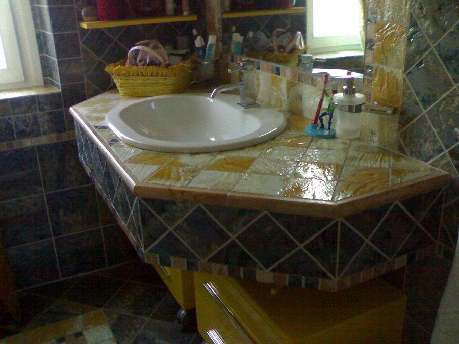 Lavandino bagno sospeso risparmio spazio idee - Lavandino bagno sospeso ...