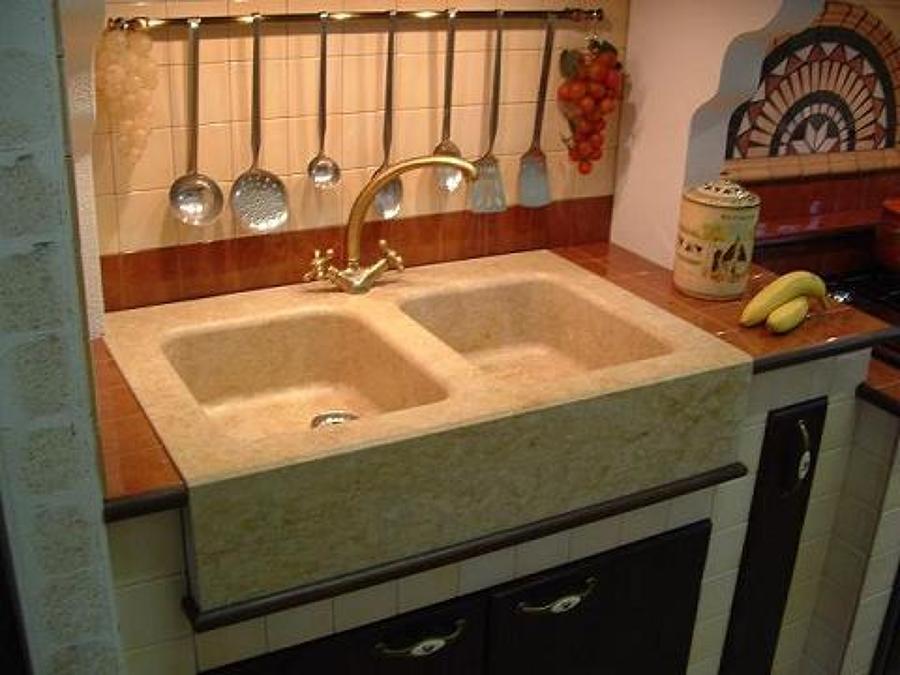 Marmo e lavorazioni idee marmisti - Blocco lavello cucina ...